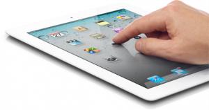 Co Schipper uit Opmeer geeft les op i-pad en tablet.