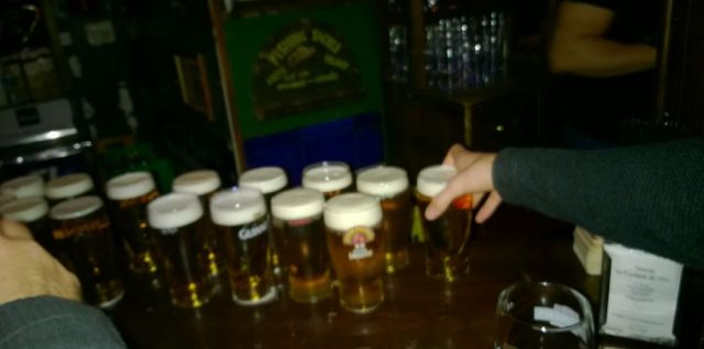 Hannes dronk teveel